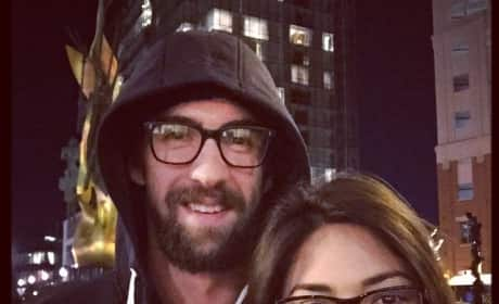 Nicole Johnson and Michael Phelps: Date Night!