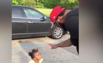 Little Girl Argues with Dad, Doesn't Believe in the Number 4