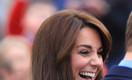 Kate Middleton Has A Laugh