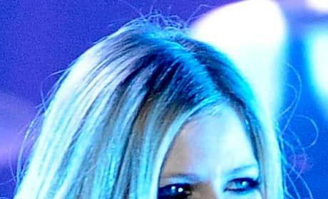 Avril Lavigne on Stage