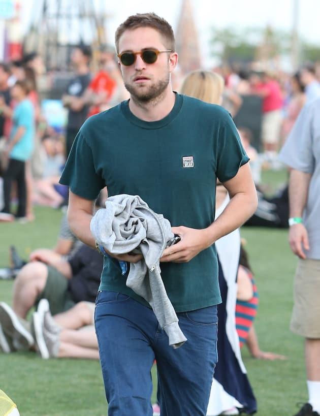 Robert Pattinson at Coachella