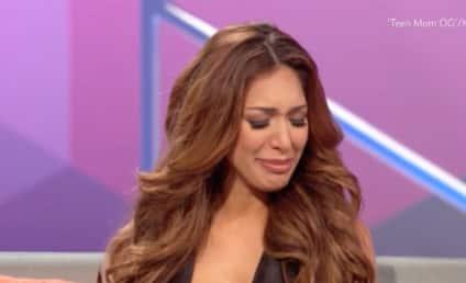 "Farrah Abraham Gets Emotional About Abusive Past: ""It's So Sad!"""