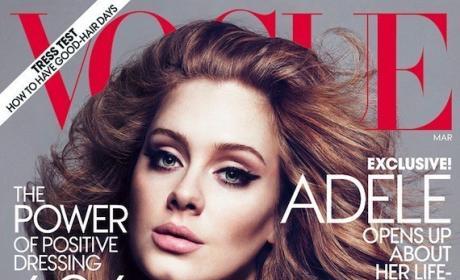 Adele on Vogue
