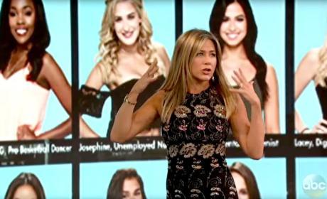 Jennifer Aniston Loves The Bachelor