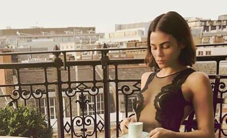 Jenna Dewan Tatum, Balcony Lingerie