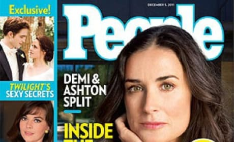 Ashton and Demi People Cover