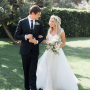 Ashley Tisdale Wedding Dress