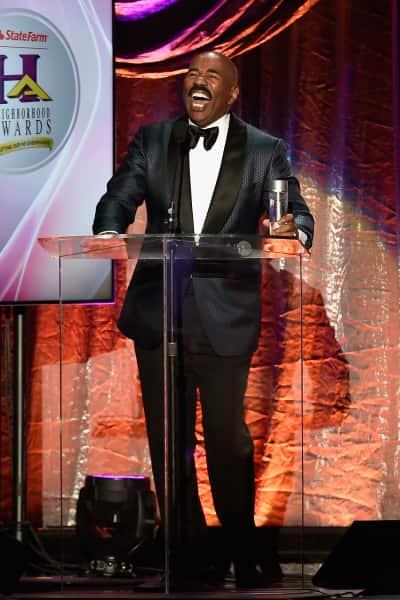Steve Harvey as Host