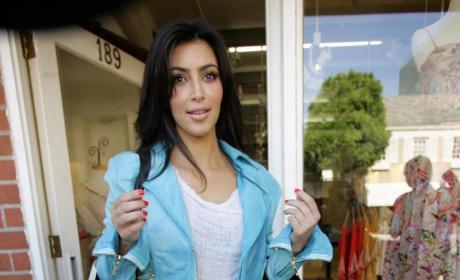 Kim Looks Like Kris!