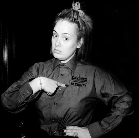 Adele Goes Makeup-Free, Nearly Breaks