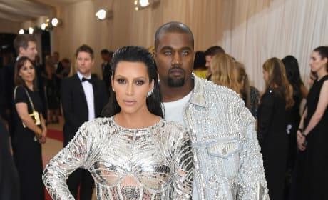 Kim Kardashian and Kanye West: 2016 Costume Institute Gala