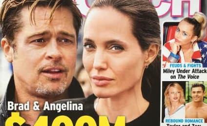 Brad Pitt and Angelina Jolie: Getting Divorced. Again.