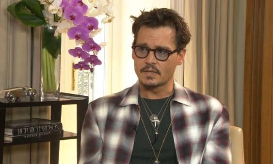 Johnny Depp Interview Photo