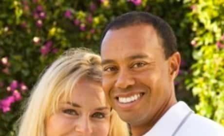 Tiger Woods, Lindsey Vonn Photo