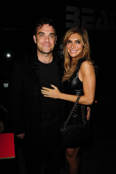 Robbie Williams, Wife