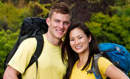 Ernie Halvorsen and Cindy Chiang Win The Amazing Race!