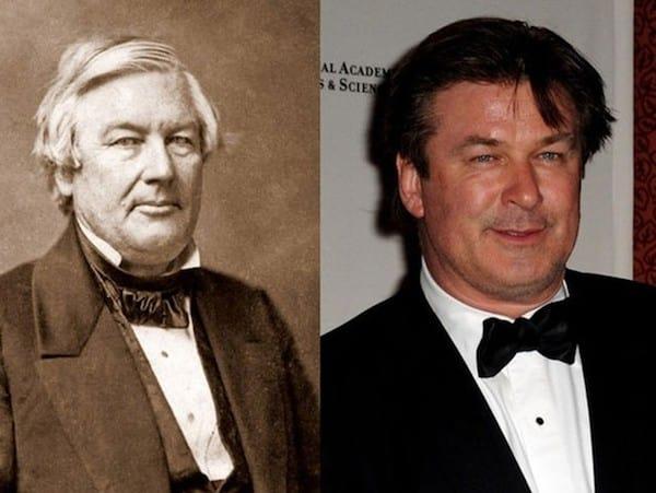 Alec Baldwin and Former President Millard Fillmore
