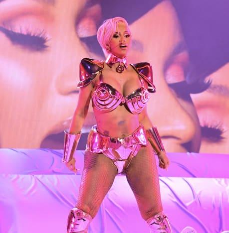 Cardi B at Grammy Awards