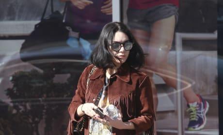 Vanessa Hudgens Runs Errands in Studio City