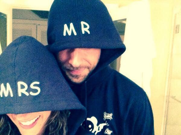Missy Peregrym and Zachary Levi