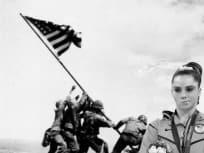 McKayla on Iwo Jima