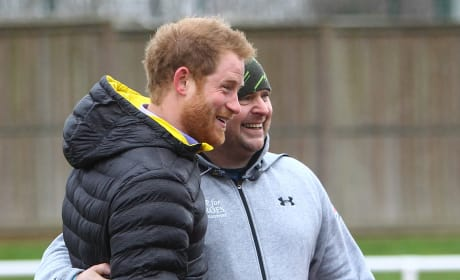 Prince Harry Poses For a Photo at Invictus Games UK Team Trials