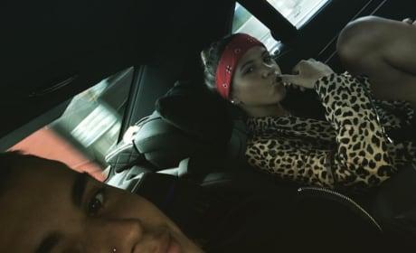 Sofia Richie and Justin Bieber Picture