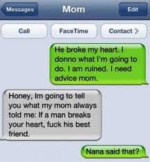 Nana Said WHAT?