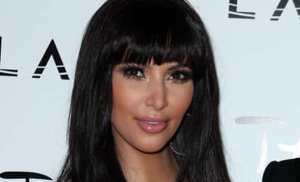 Kim Kardashian Resolves to Look Ahead in 2012