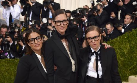 Jennifer Konner, Jenna Lyons and Lena Dunham