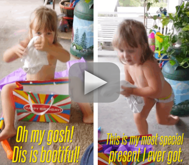 Mother Fails to Prank Adorable Daughter