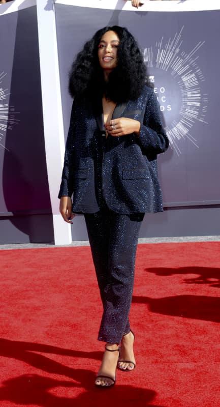 Solange at the 2014 VMAs