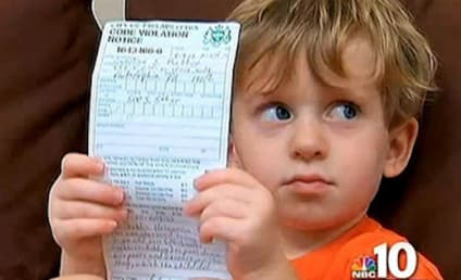 Two-Year-Old Gets $50 Ticket For Peeing on Grass, Mom Pissed