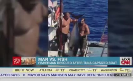 Tuna Capsizes Boat, Fisherman Airlifted to Safety