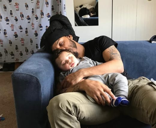 Chris Lopez With Lux