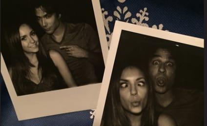 Nina Dobrev and Ian Somerhalder Say Cheese, Put to Rest Rivalry Rumors