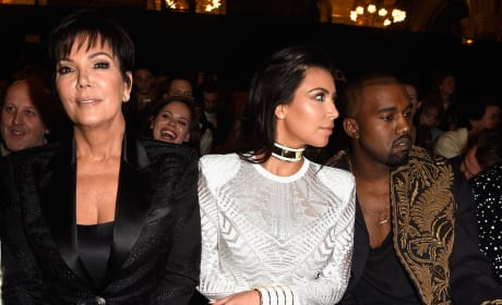 Kanye West: Blaming Kris Jenner For Kim Karashian's Robbery!
