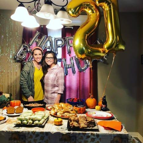 Joy-Anna Duggar Turns 21 with Jill Duggar