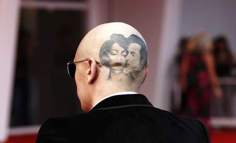 James Franco Head Tattoo Photo