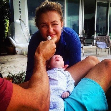 Hayden Panettiere Baby Photo