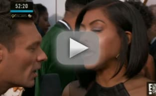 Taraji P. Henson DESTROYS Ryan Seacrest on Oscars Red Carpet