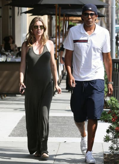 Ellen Pompeo and Chris Ivery Photo