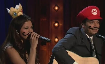 """Selena Gomez Duets with Jimmy Fallon on """"Mario Kart Love Song"""""""