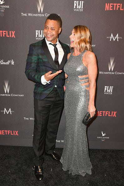 Cuba gooding jr and his wife