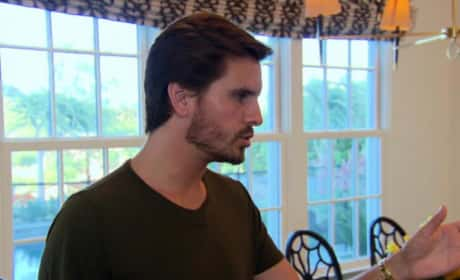 Keeping Up With the Kardashians Clip - Scott Freaks Out