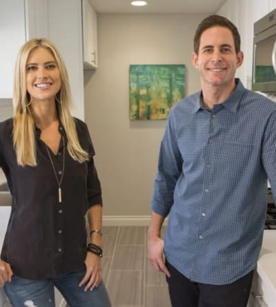 Christina and Tarek El Moussa on HGTV