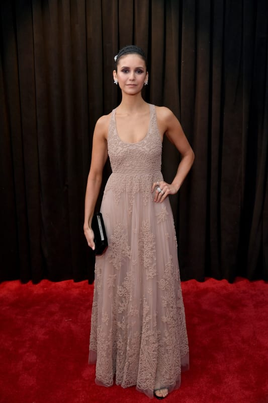 Nina dobrev at 2019 grammys