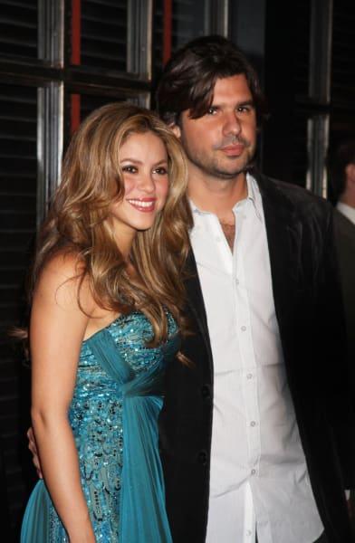 Shakira and Antonio De La Rua