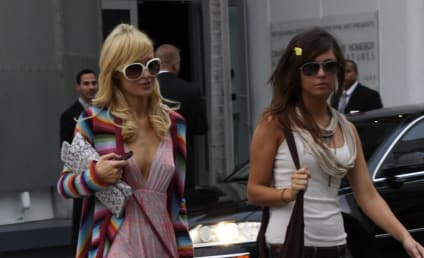 Spotted: Paris Hilton and Brittany Flickinger!