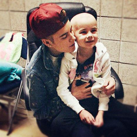 Justin Bieber, Cancer Patient